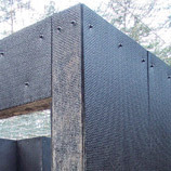 Ballistic rubber slab, 30 mm safety slab, vulkanised rubber, shooting range, protects sourroundings, protect subconstructions, outdoor shooting range, permanently elastic
